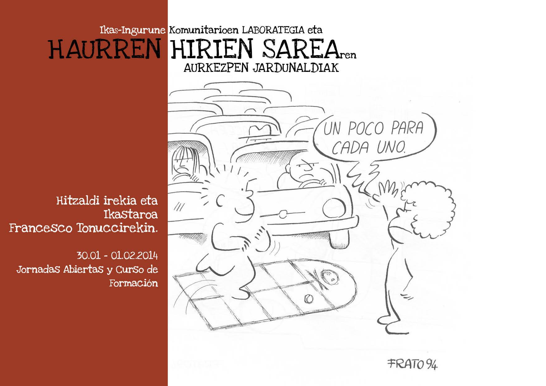 Jornadas Presentación Haurren Hirien Sarea